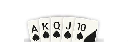 רויאל סטרייט פלאש - היד המנצחת בפוקר אונליין